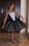 Alina cu rochita ei